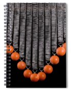 Ball Bouncing On A Spring Spiral Notebook