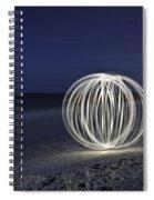 Ball Of Light Marco Island Beach Spiral Notebook