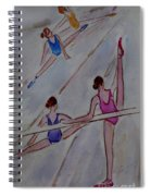 Ballerina Studio Spiral Notebook