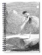 Ballet: Ondine, 1843 Spiral Notebook