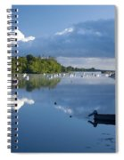 Ballina, Co Mayo, Ireland Morning Spiral Notebook