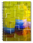 Balloon Cubed Spiral Notebook