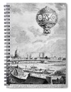 Balloon Flight, 1783 Spiral Notebook