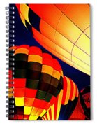Balloon Glow 1 Spiral Notebook