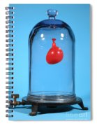 Balloon In A Vacuum, 1 Of 6 Spiral Notebook