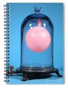 Balloon In A Vacuum, 2 Of 4 Spiral Notebook
