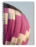 Balloon-purple-7462 Spiral Notebook