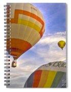 Balloon Ride Spiral Notebook