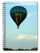 Balloons In Blue Skies  Spiral Notebook