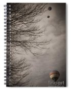 Balloons In The Pines Spiral Notebook