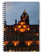 Balmoral At Night Spiral Notebook