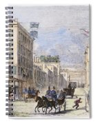 Baltimore, 1856 Spiral Notebook