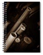 Bamboo Poles 1 Spiral Notebook