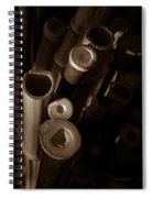 Bamboo Poles 2 Spiral Notebook