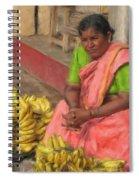 Banana Seller Spiral Notebook