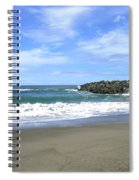 Bandon South Jetty Spiral Notebook