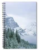 Banff National Park, Alberta, Canada Spiral Notebook
