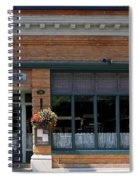Bank Now Restaurant Spiral Notebook