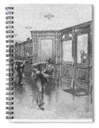 Bank Snatcher, 1890 Spiral Notebook