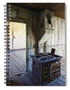 Bannack Ghost Town Kitchen Stove 2 Spiral Notebook