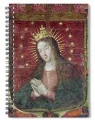 Banner Of Hernan Cortes Spiral Notebook