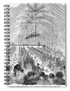 Banquet, 1851 Spiral Notebook
