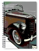 Bantam Speedster Spiral Notebook