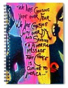 Barack And Michelle Spiral Notebook