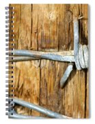 Barbed Spiral Notebook