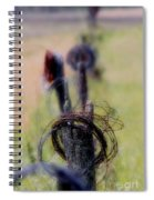 Barbed Wire Spiral Notebook