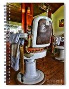 Barber - Barber Chair Spiral Notebook
