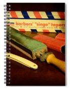 Barber - Keep The Razor Sharp Spiral Notebook