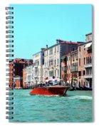 Barca Di Venezia Spiral Notebook