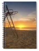 Barcelona Baywatch Spiral Notebook