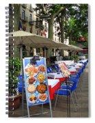 Barcelona Tapas Bar Spiral Notebook