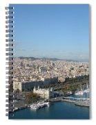 Barcelona View 2 Spiral Notebook