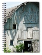 Barely Barnly Spiral Notebook