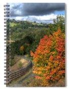 Bargoed Woodland Park Spiral Notebook