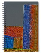 Barn And Silo Spiral Notebook