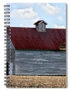 Barn And Tree Spiral Notebook