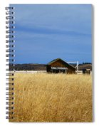Barn And Windmill Stand Spiral Notebook