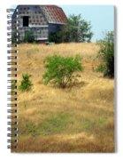 Barn On A Hill Spiral Notebook