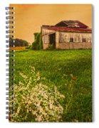 Barn On Rt. 134 Highland Co Spiral Notebook