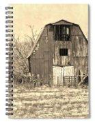 Barn-sepia Spiral Notebook