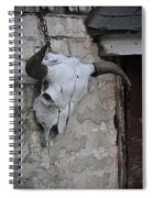 Barn Skull Spiral Notebook
