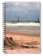 Barnacle Bill's And The Sandcastle Spiral Notebook