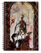 Barock Altar Of Weltenburg Monastery Church Spiral Notebook