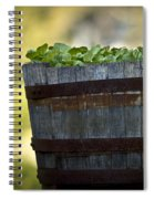 Barrel Of Collards Spiral Notebook
