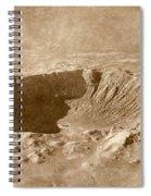 Barringer Crater Spiral Notebook