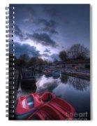 Barrow On Blues Spiral Notebook